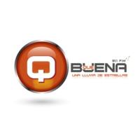 Logo of radio station Radio Qué Buena 91.1 FM