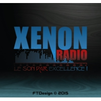 Logo of radio station Xenon Radio