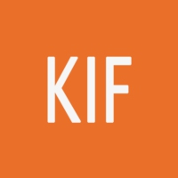 Logo of radio station KIF Radio