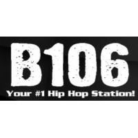 Logo of radio station KQXB B106