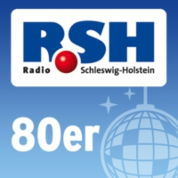 Logo of radio station R.SH 80er
