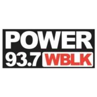 Logo de la radio Power 93.7 WBLK