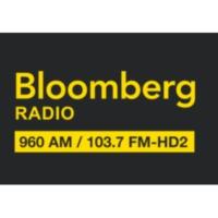 Logo of radio station KNEW Bloomberg 960