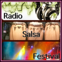 Logo de la radio RSF radio salsa festival