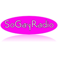 Logo of radio station So Gay Radio