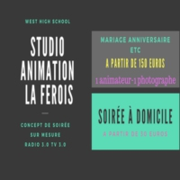 Logo of radio station Studio Animation La Ferois