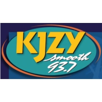 Logo of radio station KJZY Smooth 93.7
