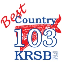 Logo of radio station KRSB-FM Best Country 103