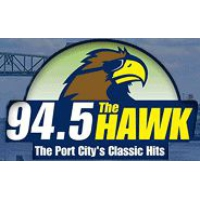 Logo of radio station WKXS The Hawk 94.5