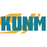 Logo of radio station KUNM 89.9 FM