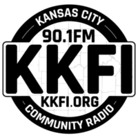 Logo of radio station KKFI 90.1 FM