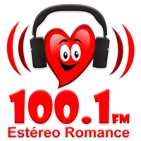 Logo of radio station XHRCH Estéreo Romance 100.1 FM