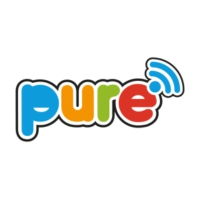 Logo of radio station Pure