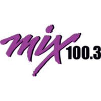 Logo of radio station KMMX Mix 100.3