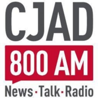 Logo of radio station CJAD 800 AM