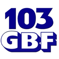 Logo of radio station WGBF 103 GBF