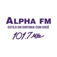 Logo of radio station Rádio Alpha FM 101.7 FM São Paulo