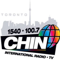 Logo of radio station CHIN Radio