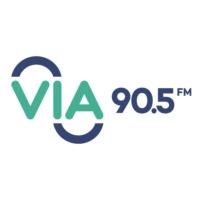 Logo of radio station CKBN VIA 90.5 FM