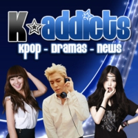 Logo of radio station Kpop Addict