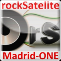 Logo of radio station rockSatelite-MadridONE