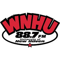 Logo of radio station WNHU