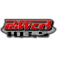 Logo of radio station KVSP Power 103.5