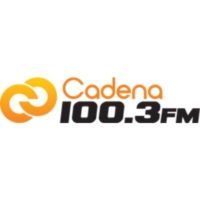 Logo of radio station XHDX Cadena 100.3 FM