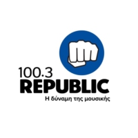 Logo de la radio Republic 100.3