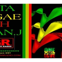 Logo of radio station Rasta Reggae with Fabian J