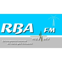 Logo of radio station RBA FM