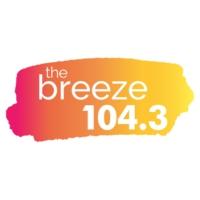Logo of radio station CHLG-FM 104.3 The Breeze
