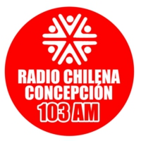Logo of radio station Radio chilena de Concepcion