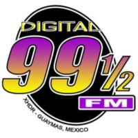 Logo of radio station XHDR Digital 99 1/2 FM