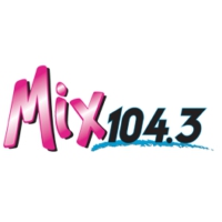 Logo of radio station KMXY Mix 104.3