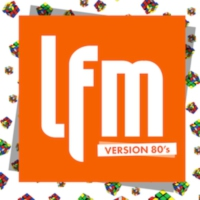 Logo de la radio LFM - Version 80's