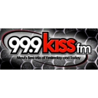 Logo of radio station KJKS Kiss 99.9