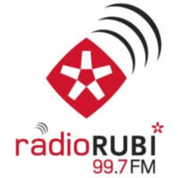 Logo of radio station Ràdio Rubí 99.7 fm