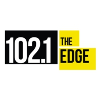 Logo of radio station 102.1 the Edge