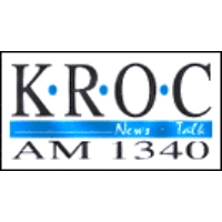 Logo of radio station KROC News Talk 1340