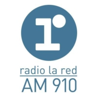Logo of radio station radio la red