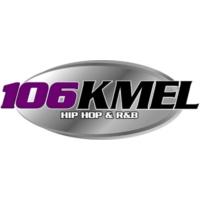 Logo of radio station KMEL