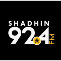 Logo of radio station Radio Shadhin 92.4 FM