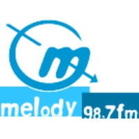 Logo of radio station Melody 98.7 FM