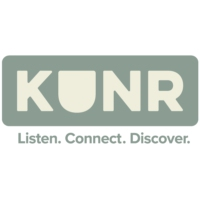Logo of radio station KUNR