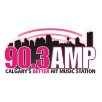 Logo of radio station CKMP-FM 90.3 AMP Radio