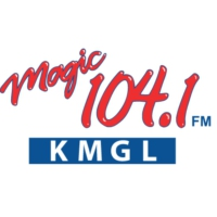 Logo of radio station KMGL Magic 104.1