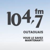 Logo of radio station CKOF 104.7 Outaouais