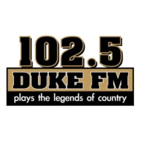 Logo of radio station KDKE 102.5 Duke FM