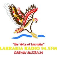 Logo of radio station Radio Larrakia